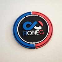 Buy 3D PVC patch school logo tag for sewing on clothes in China on ...