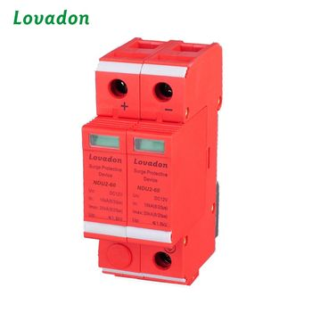 Lightning surge protective device 60KA 2P spd surge protection circuit