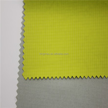 40D Half Gloss Waterproof Ripstpo2.5mm double lime Nylon Net Fabric Supplier