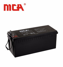 Hot sale solar energy storage system 12v 160ah sealed lead acid battery
