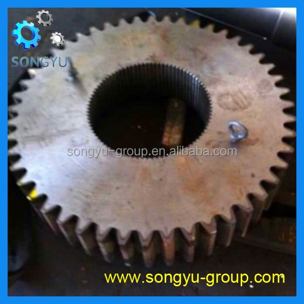alloy steel 4340 helical gear wheel