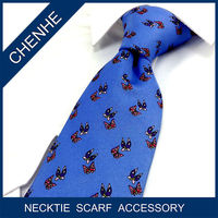 Fashion OEM Printed Polyester Tie