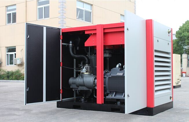 160Kw/200HP screw oil free air compressor for electronical industrial