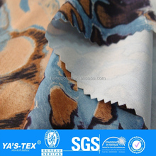 Fashion polyester stretch digital printing fabric, 4 way stretch fabric