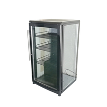 SC68C Energy Drink Glass Door Display Cabinet Fridge