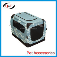 2016 new Deluxe Soft dog crate Folding Pet Travel Carrier Crate
