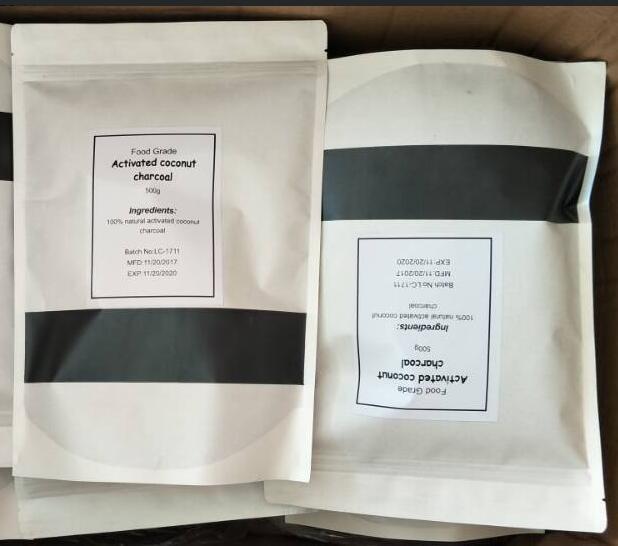 FDA Certificate Cosmetics additive Coconut Charcoal Powder