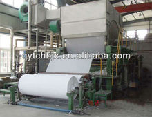 A4 paper machine 1092 single cylinder mould single dryer double coarse cloth paper making machine