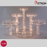 Cupcakes With Lights Display Stands / Wedding Cake Display Stands