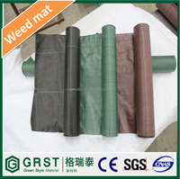 UV Resistance Agricultural PP Fabric Mat Black Plastic Ground Cover weed control fabric