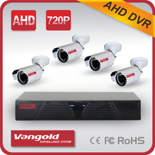 CCTV P2P Cloud 4ch Full D1 CCTV DVR Recorder HDMI H.264 easy remote access by Internet/smartphone Vangold