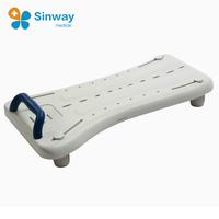 Lightweight Adjustable Bathtub Bench Shower Bath Board with Handle