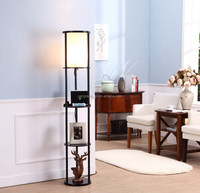 Natural design many styles driftwood standing floor lamp