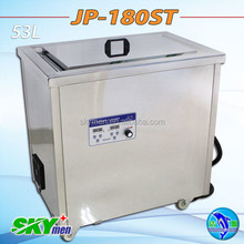 military industry ultrasonic cleaner ultrasonic gun bullet, firearm cleaning machine JP-180ST with heater
