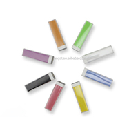 China market of electronic power bank for promotion gift, best selling Lipstick power bank
