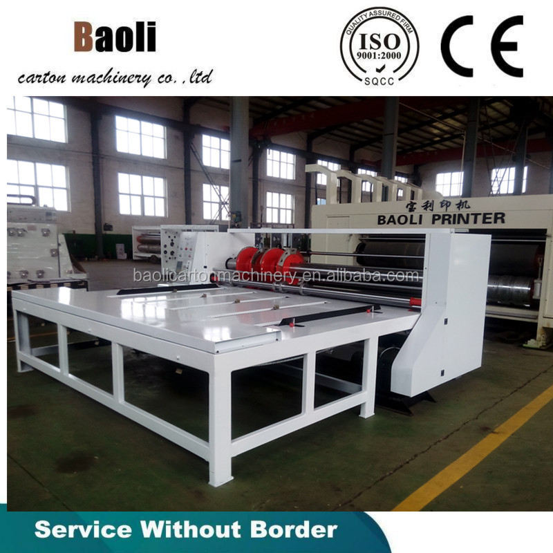 Semi-auto rotary slotter machine/Corrugated box machine carton