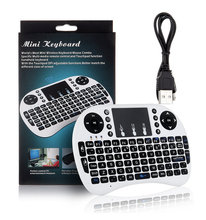 New updated 2.4g mini wireless japanese keyboard with multi-touchpad for android tv box