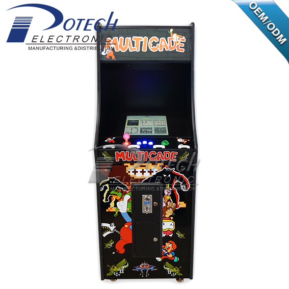 Upright arcade game Pac man/ Dokey Kong video game cabinet