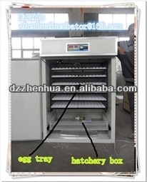 ZH-1056 new type indusrial incubator for hatching eggs/egg incubator fro 1056 eggs/CE approved incubator