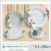 Eco-friendly,stocked feature and dinnerware sets dinnerware type crockery dinner set