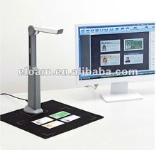 A4 size 280 dpi 3 mega pixel portable book scanner with bunbled software S300D