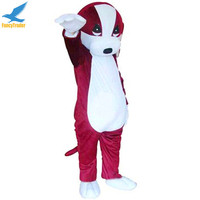 2016 New Professional Puppy Costume Animal Basset Dog Mascot Costume for adult