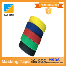 Top Level Of Single Sided Repaired Crepe Paper Tape With Rubber