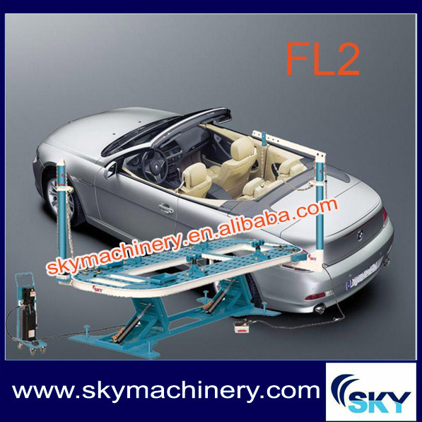 FL2 sky made in china car chassis/used frame machine