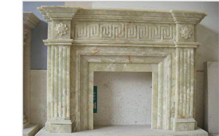 High supply ability modern design marble fireplace mantel promotion