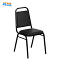 wholesale usa cheap price durable black steel hotel banquet dining chair for event