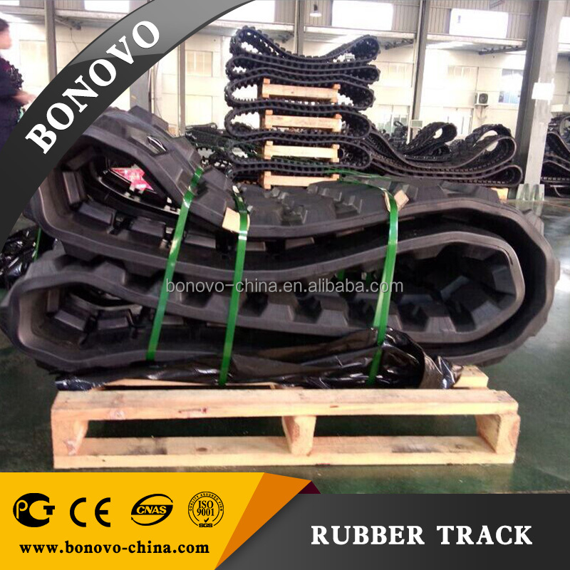 SUMITOMO SH60 450x73.5x80 rubber track , rubber pad ,rubber crawler made from natural rubber for Excavator
