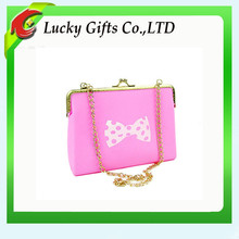 Innovative silicone rubber lady bag/women purse