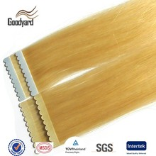 super surgical good quality wholesale cheap silk straight Brazilian indian remy human stick double sided adhesive tape hair