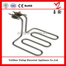 Electric deep fryer heating element for frying machine