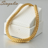 Latest Design Jewellery 18K Gold Chain Men Necklace Jewelry Lucky Necklace 40030343