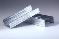 Stud and Track Metal Building Materials for Drywall Partition Projects