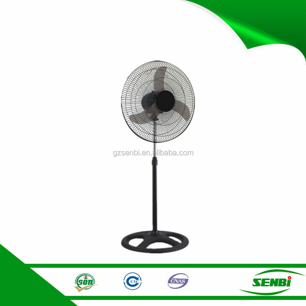 industrial electric motor cooling metal pedestal 18 inch antique stand fan