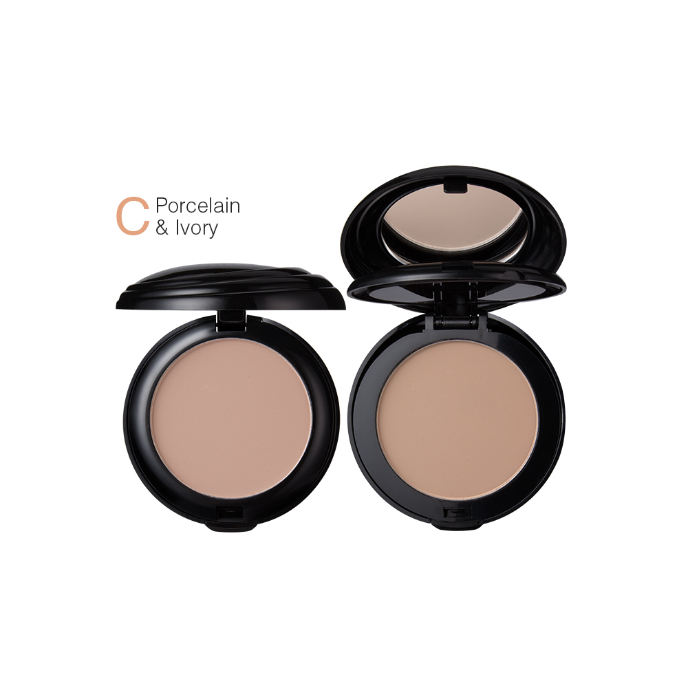 Menow Makeup Cosmetics 2 Color Face Powder Foundation
