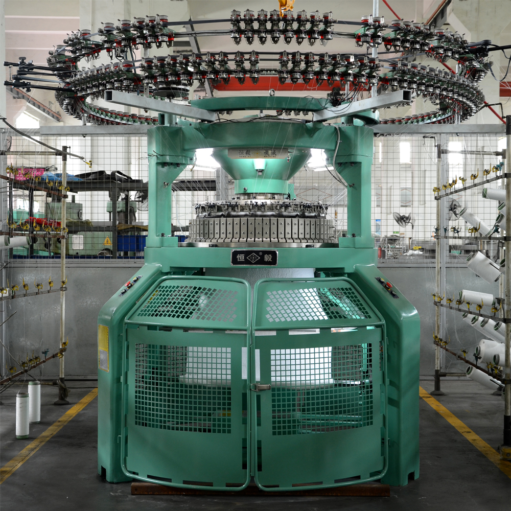 Commercial Carpet High Pile Loop Cut Circular Knitting Machine With Spare Part