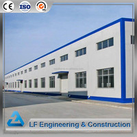 Prefabricated steel frame structure construction warehouse building