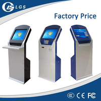 OEM Factory Touch Payment Cash Acceptor Kiosk Printer Camera IC ID Card Reader