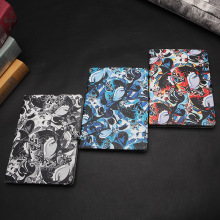 For Apple ipad 2 3 4 mini 1 2 3 4 Case Flip PU Leather Cover Smart Stand Holder Folio Case original folk comics foldable tablet