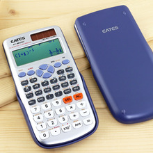 Customized Logo High Tech 417 Functions 10 Digits 2 Lines Display School Scientific Calculator Electronic Calculator