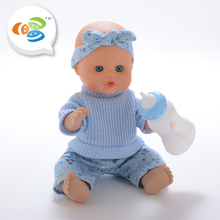 shantou cheng hai toy factory 12inch full body silicone reborn doll kits for kids
