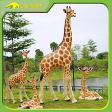KANOSAUR0095 Zoo Decoration Real Size Animatronic Giraffe