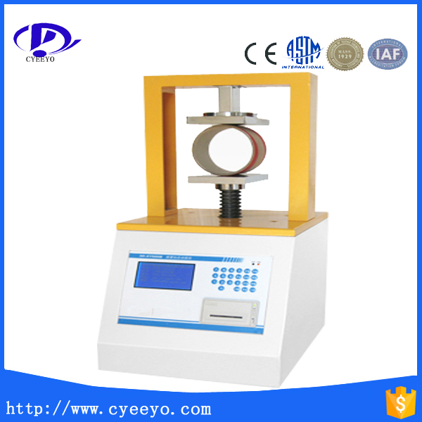 paper tube crush strength tester