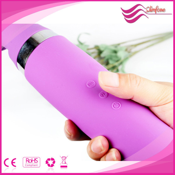 2016 High Quality Rechargeable Waterproof Female wand vibrator full body Massager sex toy