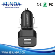factory cellphones accessories 12-24V 4.8A car charger adapter
