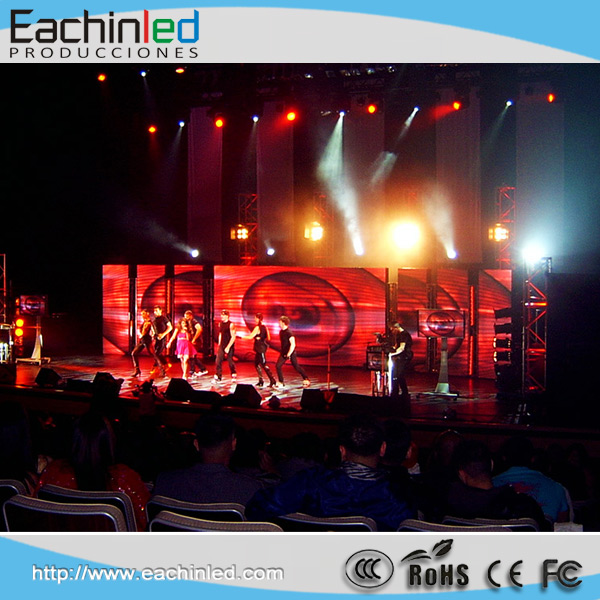 P6 super hot stage led screen for concert, portable dj stage