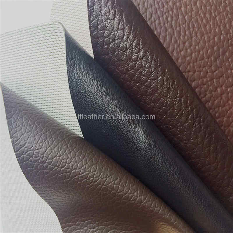 Anti-cold pvc leather Vinyl to Upholstery fabric for making sofa chair furniture
